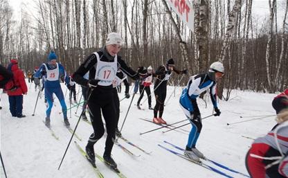Тульские лыжники остались без наград чемпионата округа