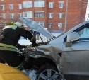 В результате ДТП в Алексине пострадали два пассажира микроавтобуса