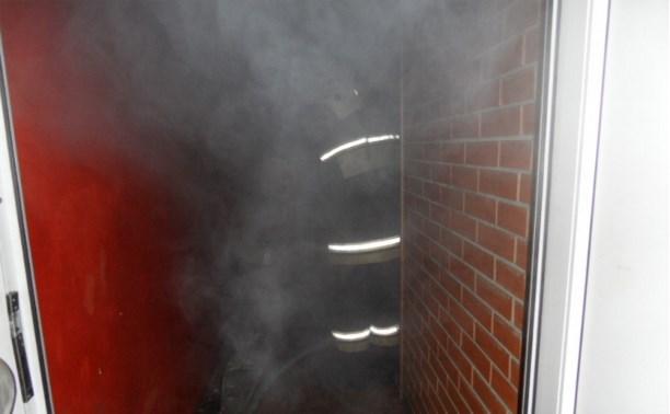 В кафе на улице Кутузова в Туле произошёл пожар