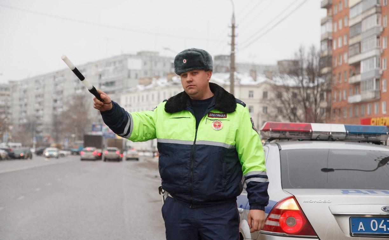 В Тульской области за три дня сотрудники ГИБДД поймали более 40 пьяных водителей