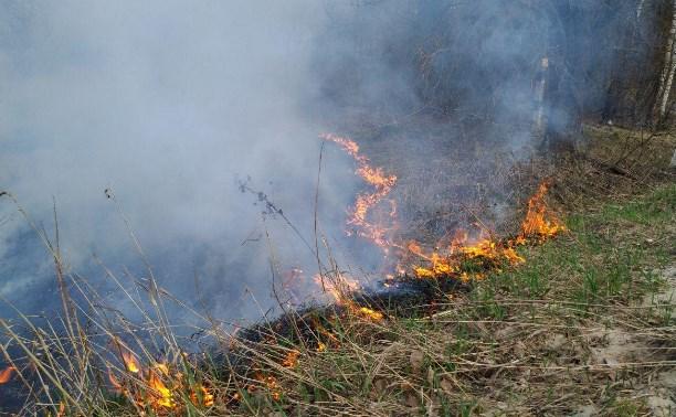 Туляков предупреждают о высоком уровне пожароопасности в регионе