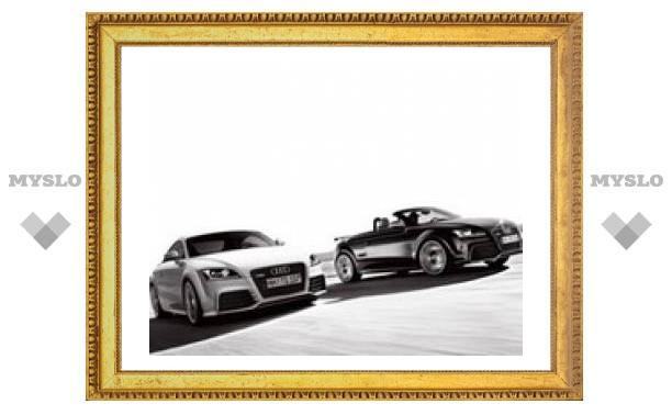 """Самое мощное купе Audi TT разгонится до """"сотни"""" за пять секунд"""