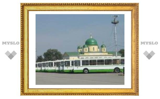 Тульские транспортники получат новые автобусы