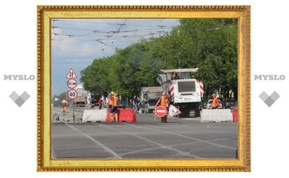 Правительство Тульской области решило временно перекрыть движение на участке Калужского шоссе