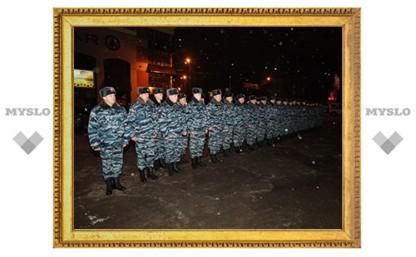 Тульские полицейские отправились в Чечню