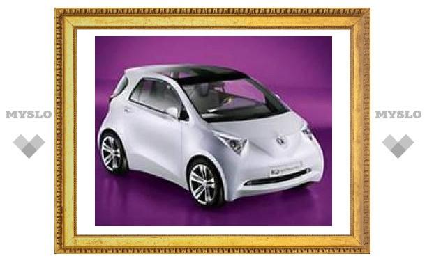 Премьера серийного компакткара Toyota iQ состоится на выставке в Женеве