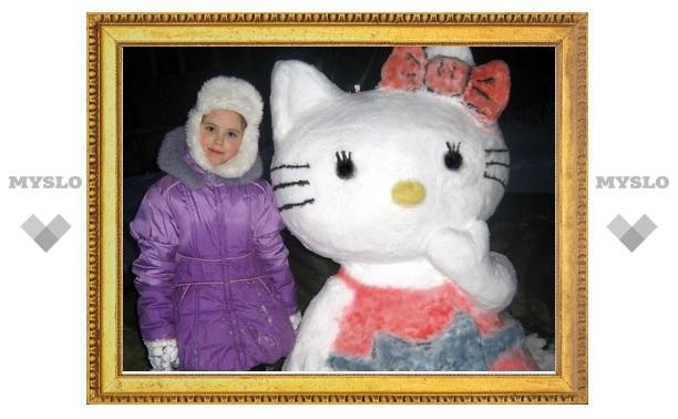 Туляки выбрали лучшего снеговика