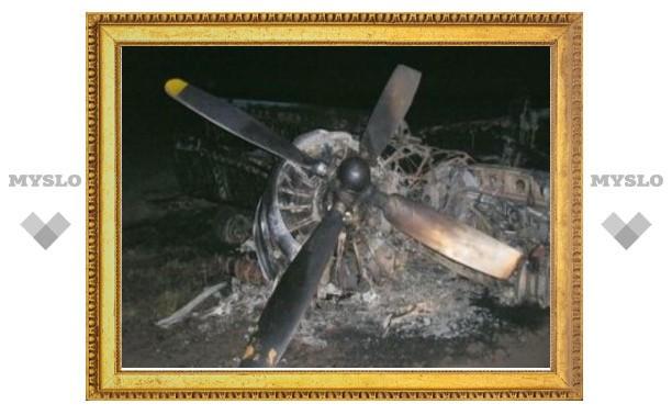 Под Тулой упал военно-транспортный самолет