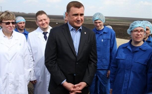 Алексей Дюмин ответил на вопросы сотрудников ООО «Воловский бройлер»