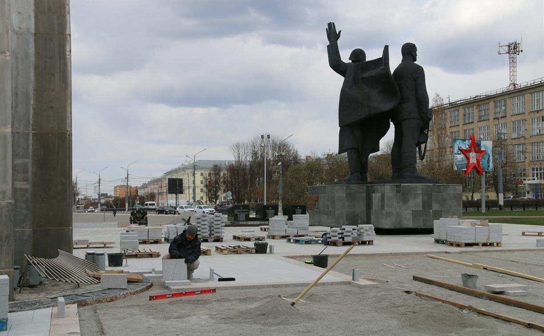 Поменяли подрядчика: Когда завершится ремонт площади Победы в Туле?