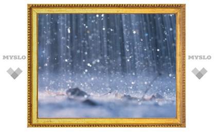 На выходных Тулу накроет дождем