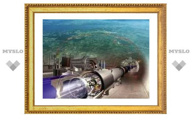 В Женеве появился Большой адронный коллайдер
