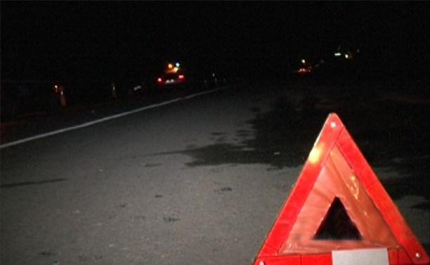 На трассе М2 18-летний водитель ВАЗ врезался в столб