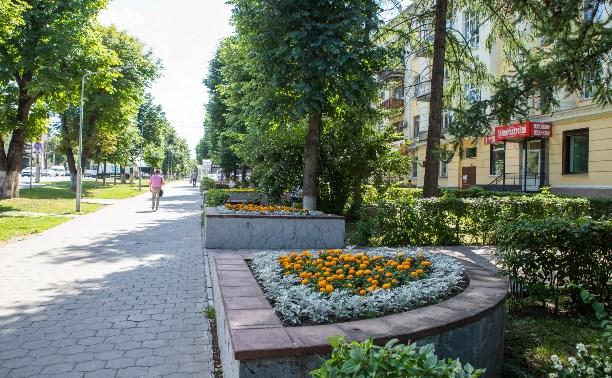 Как хотят благоустроить бывшую «аллею фонтанов» на пр. Ленина: тулякам показали проекты