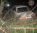 В Узловой пьяный водитель на «шестерке» вылетел в кювет и врезался в дерево