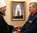 Начальник тульского УФСИН встретился с митрополитом Алексием
