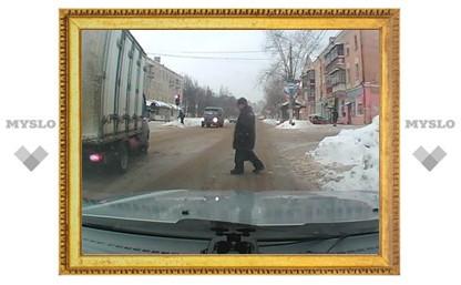 В Туле появились пешеходы-невидимки?