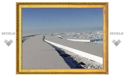 Крупный антарктический ледник оказался на грани гибели