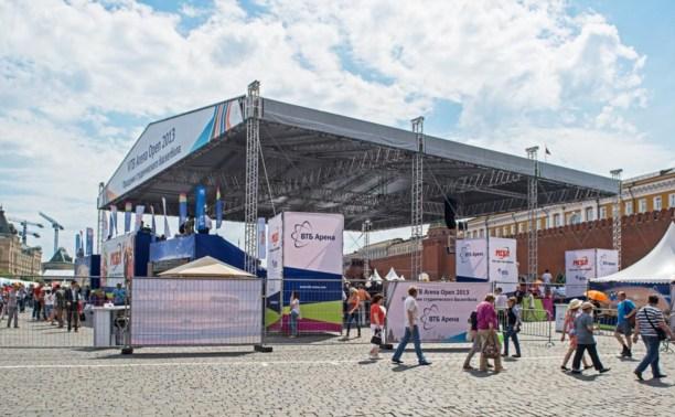 Юные туляки участвуют в физкультурно-спортивном форуме в столице