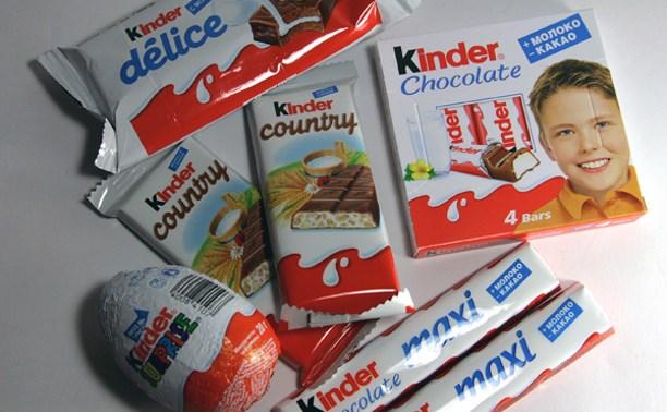 В Кимовском районе женщина украла из супермаркета шоколадки, «Киндер» и скумбрию
