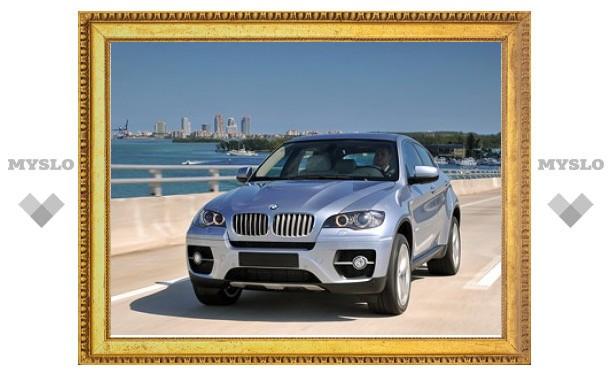 Компания BMW прекратила выпуск гибридного кроссовера X6