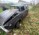 В Плавском районе опрокинулась легковушка: за рулем был подросток