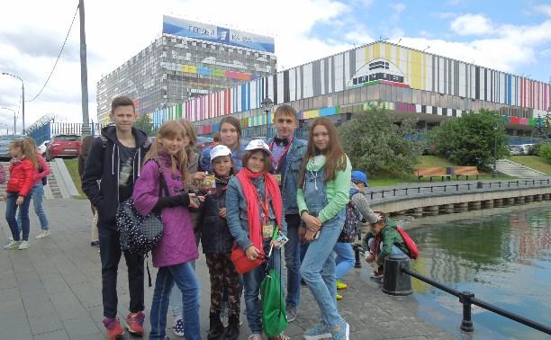 Юные туляки вернулись с фестиваля детского телевидения «Включайся-2016»
