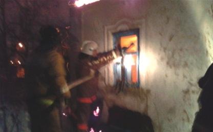 В Новомосковске при пожаре погиб мужчина