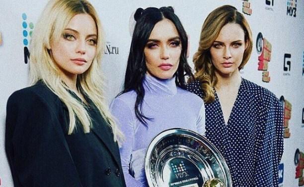 Тулячка Катя Кищук получила премию Муз-ТВ в составе группы Serebro