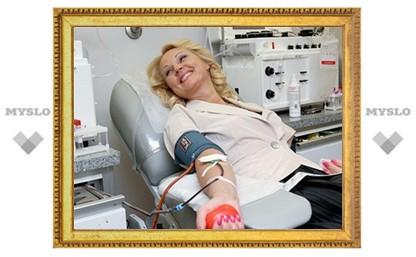 В Туле нет дефицита крови!