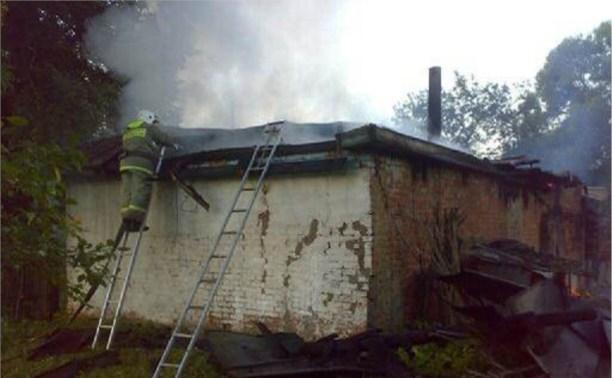 В Чернском районе сгорели две женщины