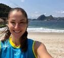 Тульская волейболистка Татьяна Кошелева тренируется в Бразилии