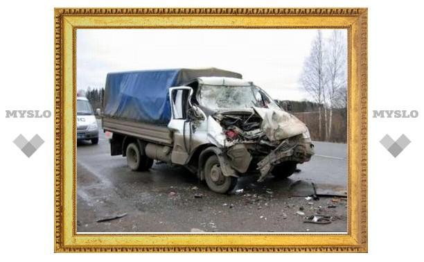 Под Тулой две женщины попали в аварию