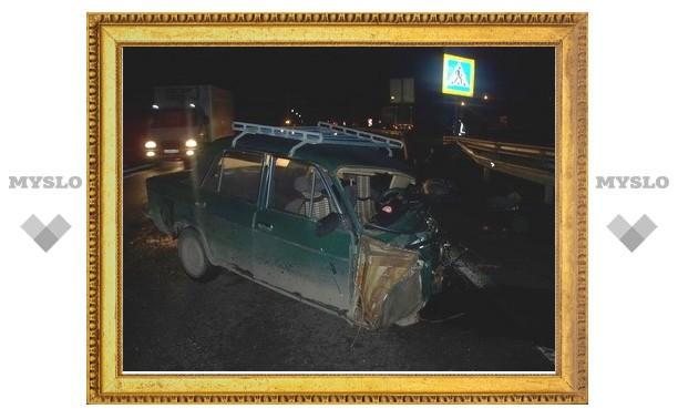 Житель Московской области погиб в двойном ДТП под Тулой