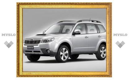 В России начались продажи обновленного Subaru Forester