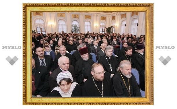 Ежегодное собрание духовенства и мирян состоялось в Санкт-Петербургской епархии