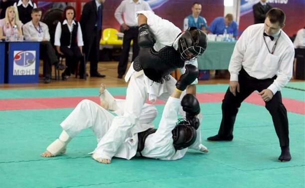 Тульские борцы привезли награды с чемпионата России