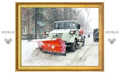 В Туле будут следить за снегоуборочной техникой