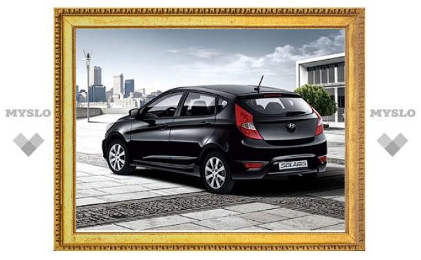 Названы цены на хэтчбек Hyundai Solaris