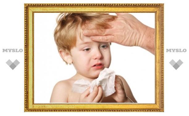 В Москве началась эпидемия гриппа и ОРВИ среди дошкольников