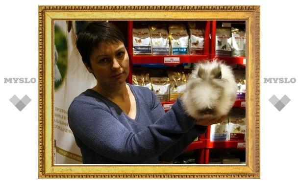 В Туле найден самый большой кролик