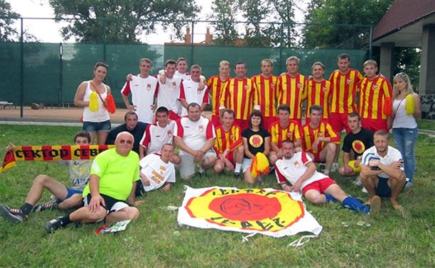 Фанаты тульского «Арсенала» сыграли в футбол с руководством клуба