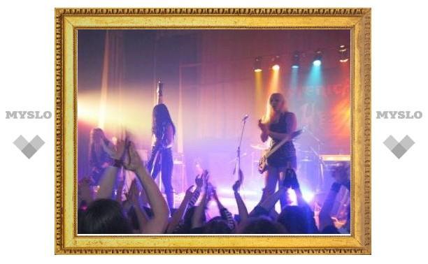 В Туле выступили металлисты из Швеции