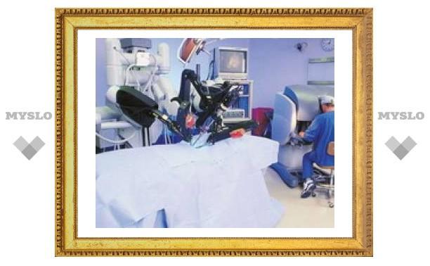 Робот выполнил операцию на мозге человека