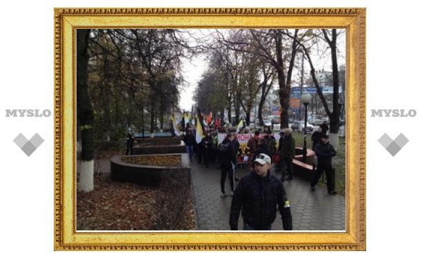 В Туле проходит Русский марш
