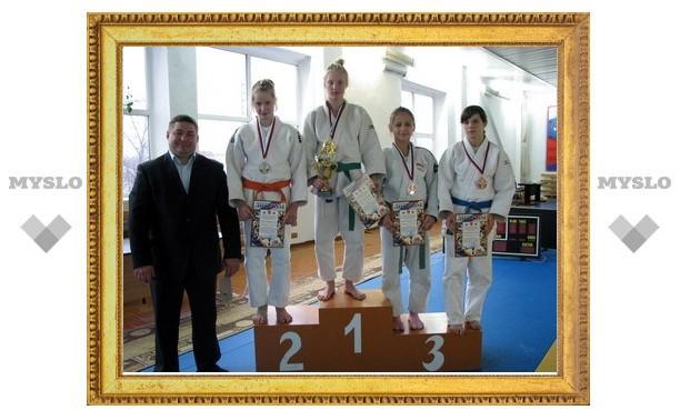 Тульские дзюдоисты собрали урожай медалей