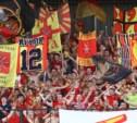 Болельщики «Арсенала» готовятся к выездному матчу с «Тереком»
