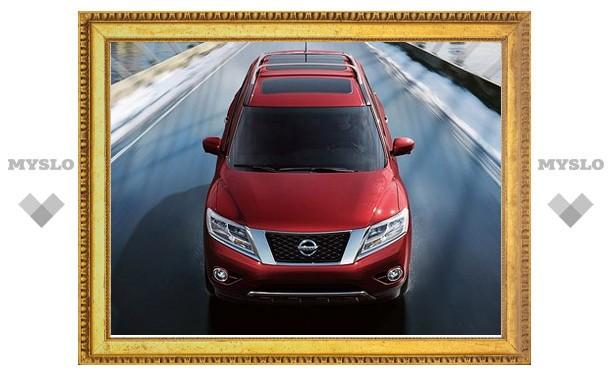 Новый Nissan Pathfinder лишили рамной конструкции