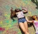 В Ликёрке Лофт прошел фестиваль красок Холи