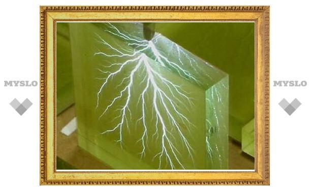 Каркасы для искусственных тканей получили при помощи разрядов молний
